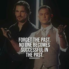 You LEARN from the past, grow and move on. ~ dd