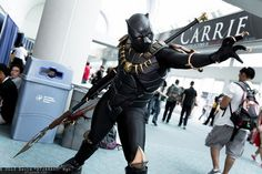 A Badass Black Panther Cosplay