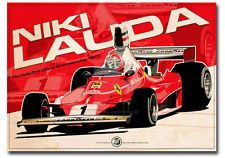 The wonderful art of Evan Deciren - Motorsport Retro Gilles Villeneuve, Formula 1 Car, Epic Art, Classic Motors, Car Posters, Car Drawings, Automotive Art, Indy Cars, Car And Driver