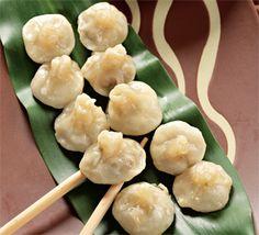 Wok Recipes, Asian Recipes, Cooking Recipes, Dim Sum, Ravioli, Creative Food, Dumplings, Food Porn, Food And Drink