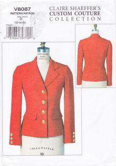Vogue 8087 Claire Shaeffer Jacket