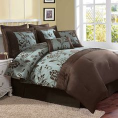 61 Best Turquoise And Brown Bedding Images In 2015 Brown