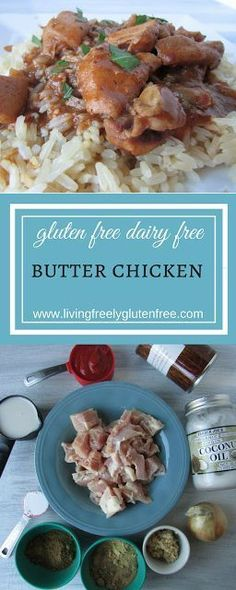 Butter Chicken: Glut Butter Chicken: Gluten Free, Dairy Free. Full of amazing flavor. The Instant Pot makes this super easy to make.