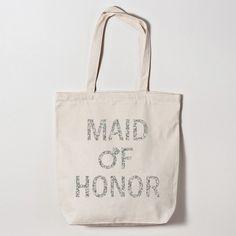 Maid Of Honor Diamond Ring Tote Bag
