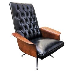 Vintage Plycraft Mulhauser Mid Century Modern Tufted Bentwood Lounge Chair - Available NOW @ A Life Designed!