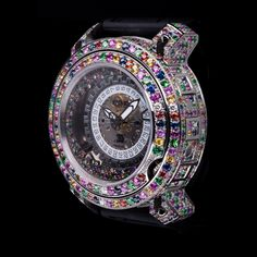 Ritmo Mundo diamond and sapphire watch $30,000. seriously.