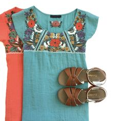 Embroidered Blouses   ROOLEE