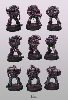 Slaanesh Space marines