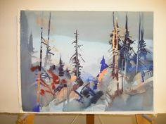 Stephen Quiller Workshop   Wildwood Watercolors