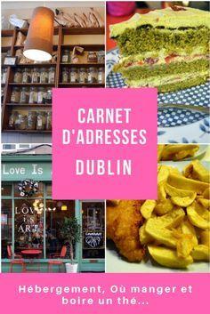Bonnes adresses où dormir, manger, boire un thé et déguster un succulent gâteau. J'ai découvert Dublin lors de notre escapades en duo mère fille. #Dublin #Irlande #Ireland #eire