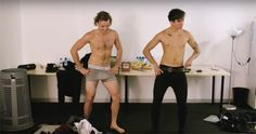 | 5SOS ASHTON IRWIN and CALUM HOOD STRIP OFF IN NEW DVD ! (VIDEO) | http://www.boybands.co.uk