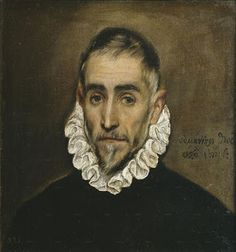 Another painting of El Greco himself. I wanted to know what he looks like and a self portrait is the only depiction of El Greco Nobleman, El Greco, Male Portrait, El Greco Paintings, Painting Reproductions, Florence Academy Of Art, Portrait Painting, Decorative Prints, Oil Painting Portrait