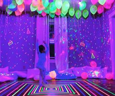 30 Pack LED Light Up Balloons Premium MixedColors Flashing Party Lights Lasts 1224 Hours Ideal for Parties Birthdays and Wedding Decorations Fillable with Helium Air by GIGALUMI * Have a look at the photo by seeing the link. (This is an affiliate link). Neon Birthday, 13th Birthday Parties, Birthday Party For Teens, Sleepover Party, Slumber Parties, 16th Birthday, Birthday Ideas, Glow In Dark Party, Glow Party