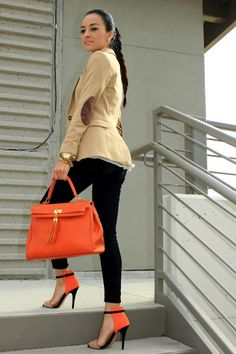 I'm thinking my new favorite color for Spring is orange!