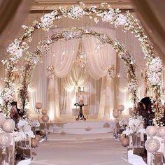 Indoor Winter Wedding