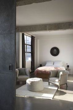 Metal barn bedroom d