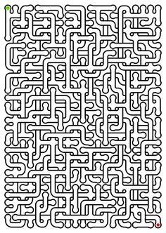 Calming Activities, Activities For Adults, Therapy Activities, Learning Activities, Maze Puzzles, Word Puzzles, Hard Mazes, Printable Mazes, Kids Planner