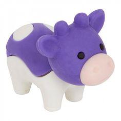 Iwako purple cow eraser