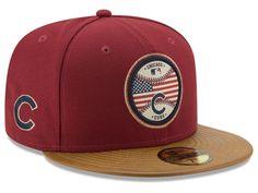 Chicago Cubs New Era MLB Vintage Olive 59FIFTY Cap 096ac6d8802