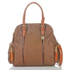 "BIG BUDDHA ""Alyce"" Dome Satchel at HSN.com"