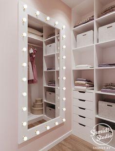 Top Beautiful Teen Room Decor For Girls - Decor Bedroom Closet Design, Girl Bedroom Designs, Home Room Design, Closet Designs, Girls Bedroom, Small Closet Design, Bed Design, Easy Diy Room Decor, Teen Room Decor