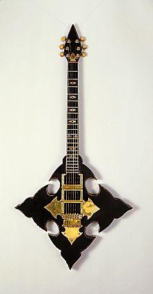 cross custom guitar
