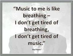Music like breathing...