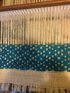 Weaving Patterns, Loom Weaving, Lana, Weave, Stitch, Rugs, Projects, Inspiration, Ideas