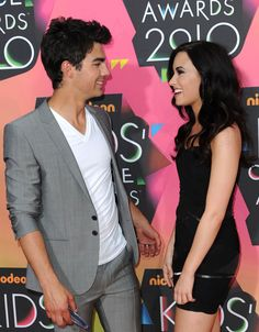 Young love on the red carpet: Joe Jonas and Demi Lovato