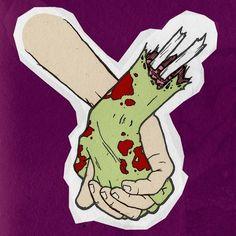 love zombie, love, zombie, death, until death do us part
