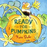 Annotation: A classroom guinea pig learns about gardening by growing his own pumpkin. Duke has created a funny and charming book that shows not just how seeds grow into plants, but also how one needs patience to see a long project through. Full color.