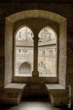 Cour d'honneur du Palais des Papes à #Avignon #France #Patrimoine