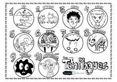 It's the Ten Plagues! Download to print and color! Download the 10 hamakot Coloring Page here!