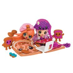 AmazonSmile: Kawaii Crush - PB & J Slumber Party Pack: Toys & Games Kawaii Crush, Girl Toys, Toys For Girls, Kawaii Doll, Kawaii Things, Secret Crush, Toy 2, Laurel Burch, Slumber Parties