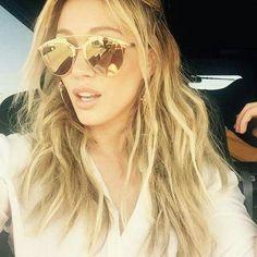 b99999f0c6ca Hilary Duff Dior Reflected Sunglasses