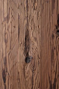 It's natural, it's alive and its beauty is eternal. It is a material that manages to create an unprecedented atmosphere of comfort and well-being providing that it is given the care it deserves Old Wood, Wood Paneling, Bamboo Cutting Board, Designer, Natural, Beauty, Wainscoting, Creative, Ideas