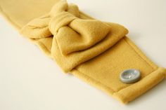 Ear warmer tutorial. SO EASY! -