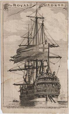 HMS  Royal George 100-пушечный линейный корабль 1746