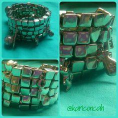 Bracelet pulseira #pulseirismo by @kariconcah