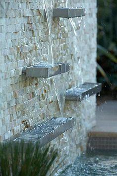 fontaine murale luxueuse et belle                                                                                                                                                                                 Plus