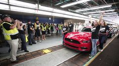 2015 #Ford Mustang production begins in Flat Rock
