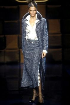 Helena Christensen - Valentino Haute Couture Fall/Winter 1996