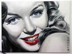 Marilyn, artist: Cinzia Pellin