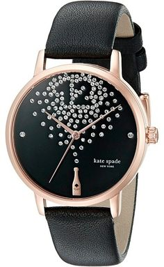 Kate Spade New York Metro - KSW1014 - Break out the bubbly and celebrate life with the wonderful whimsy of the Kate Spade New York® Metro timepiece. ; 12K rose gold-plated stainless steel case.