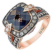 Shop for Le Vian Strawberry Gold Chocolate Quartz & diamond ring by Le Vian Chocolatier at ShopStyle. Dress Rings, Jewelry Photography, Gems Jewelry, Diamond Are A Girls Best Friend, Le Vian, Ring Designs, Jewelry Stores, Bling, Chocolatier