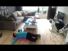 7 minute workout dag 17 januari - YouTube