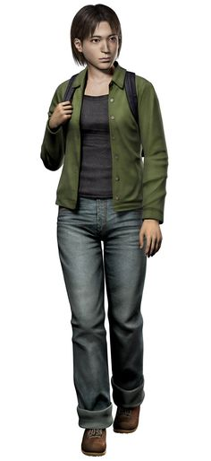 View an image titled 'Yoko Suzuki Art' in our Resident Evil Outbreak art gallery featuring official character designs, concept art, and promo pictures. Resident Evil Outbreak, Resident Evil Game, Gangsters, Survival, Character And Setting, World Of Darkness, Shadowrun, Yoko, Zombie Apocalypse