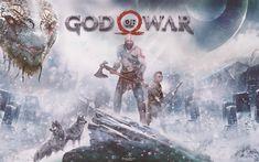 Télécharger fonds d'écran Dieu de la Guerre 4, 4k, Action-aventure, 2018 film de monstre
