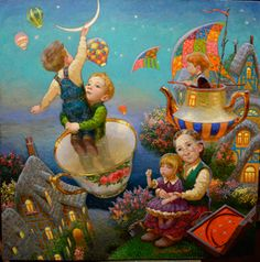 Hanging the Moon   Victor Nizovtsev