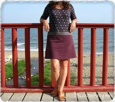 vestido-optic-flowers-de-la-ottobre.html Blog, Skirts, Html, Ideas, Design, Fashion, Gowns, Sewing, Pastel Goth